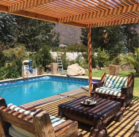 24 terrazas bonitas que caben en cualquier parte for Que piscina puedo poner en una terraza