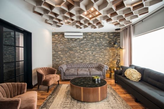 15 stone wall ideas for your living room