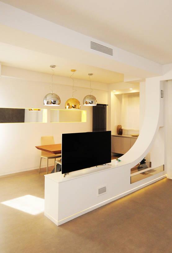 Un appartamento di 100 m perfetto per una famiglia for Appartamento monolocale di 600 m