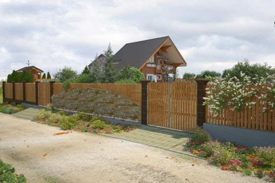 15 casas maravillosas y muy seguras con rejas o cercas - Vallas para casas ...