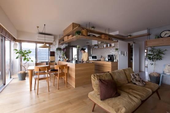 オープンキッチンをより使いやすくするアイデア