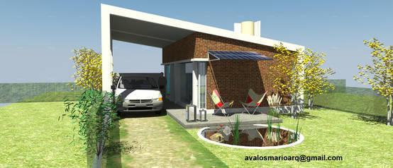 Homify for Construccion de casas minimalistas en argentina