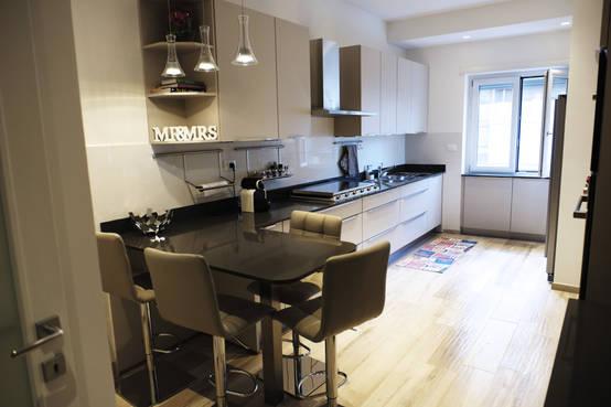 56 foto di cucine con penisola ideali per spazi ridotti - Tipologie di cucine ...