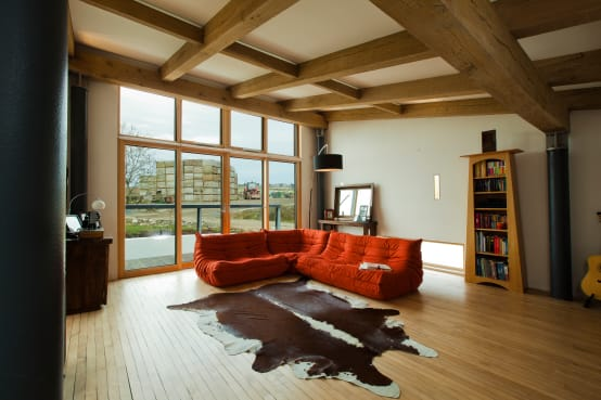 Barn Loft Living in an Agricultural Landscape
