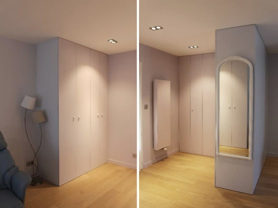 Homify for Moderne kleedkamer