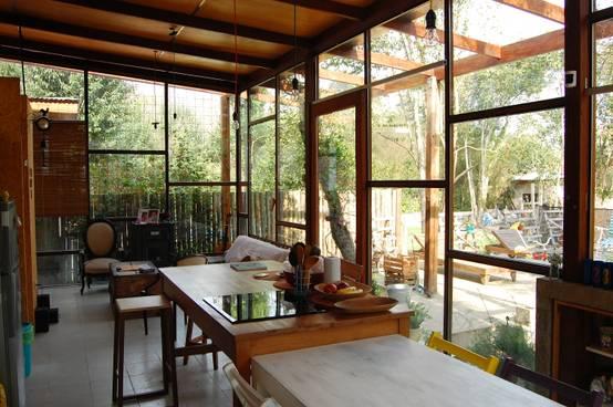 12 salas de jantar r sticas ideais para casas pequenas - Casas marroquies ...