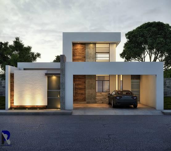 Homify for Casas modernas renders