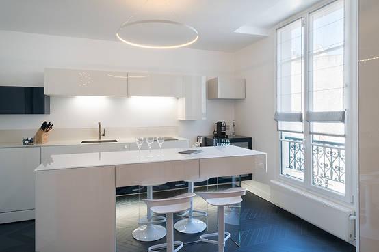 12 mat riaux modernes pour le comptoir de cuisine. Black Bedroom Furniture Sets. Home Design Ideas