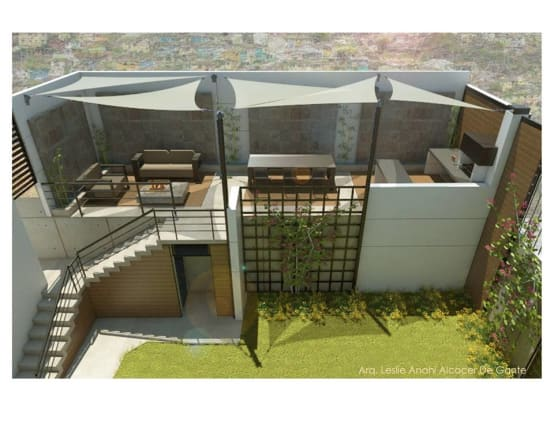 Planos y tips para una lograr una terraza con la - Ideas para cerrar una terraza ...