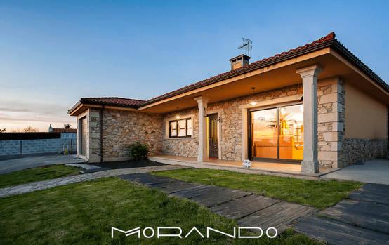 20 casas r sticas que o v o querer fazer mudar se para o campo for Casa moderna rustica