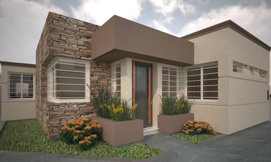 16 casas con fachadas de piedra modernas y preciosas for Frentes de casas modernas con piedras