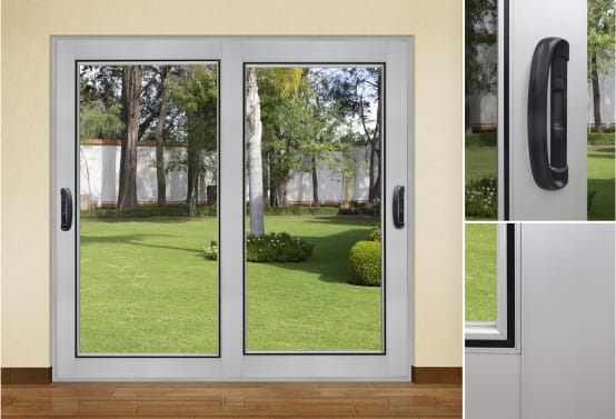 Puertas de aluminio ideas y costos en m xico for Puertas de aluminio para habitaciones