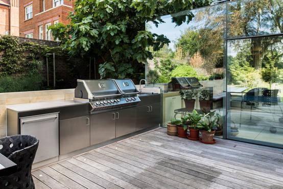 Grillplatz im Garten: 15 Tipps zu Standort und Gestaltung einer Außenküche mit Grill | homify