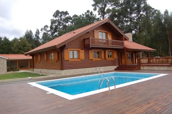 25 casas de madeira de todos os estilos - Casas de madera en portugal ...