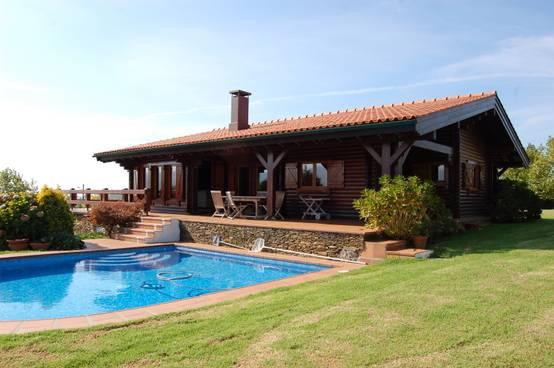 20 casas r sticas perfectas para un terrenito en el campo ya - Casas de una planta rusticas ...
