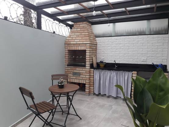36 churrasqueiras e fornos que cabem perfeitamente em - Patio pequeno decoracion ...
