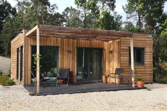 Cabana r stica e ecol gica a moradia perfeita projeto for Asadores de jardin rusticos