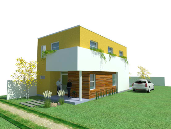 Homify for Casas feng shui arquitectura
