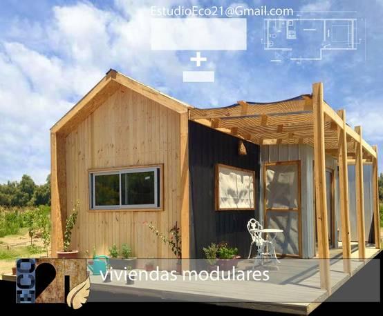 En vi a del mar construyen casas modulares a 390 uf el for Muebles de oficina vina del mar