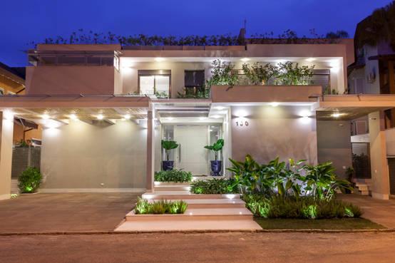 Entradas de casas 20 ideas modernas y fabulosas - Ideas para entradas de casa ...