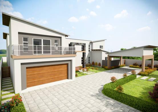 A 1980s johannesburg home gets a modern upgrade for Modern house upgrades