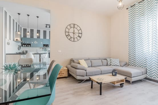 Un piso de 73 metros cuadrados ideal para una pareja joven for Decoracion piso pareja joven