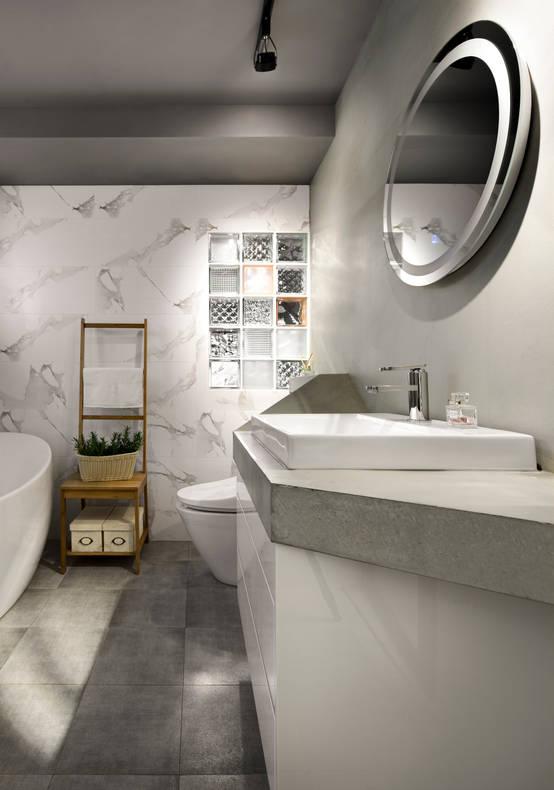 浴室又小又亂怎麼辦?11種高效高顏值的小浴室創意設計   homify