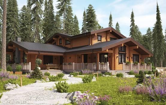 Идеальный дом в Завидове из клееного бруса | homify