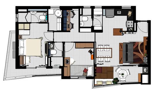 10 casas con sus planos para inspirarte y dise ar tu casa for Como disenar tu casa