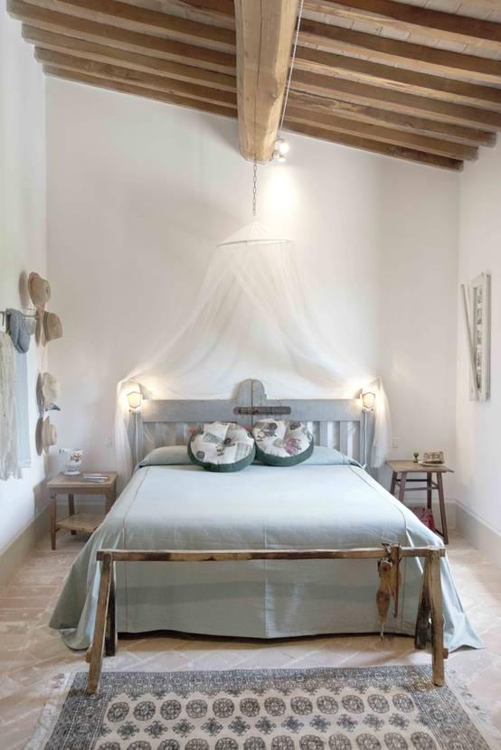 Casa r stica com detalhes shabby chic - Camera da letto shabby chic moderno ...