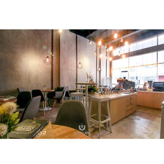 4 Inspirasi Rumah Tinggal dari  Desain  Cafe