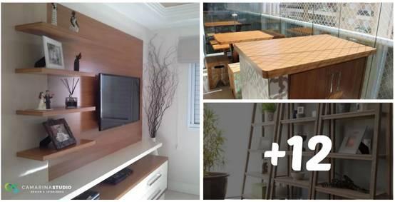 15 Muebles de madera que puedes hacer en casa ¡Tú mismo!