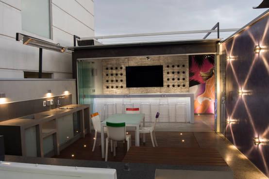 16 terrazas en la azotea modernas y llenas de ideas for Terrazas modernas en azoteas