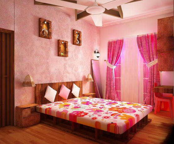 5 Romantic Colours For Your Bedroom To Fill It With Love Homify