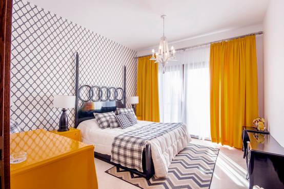 5 تصميمات جديدة ومشرقة لغرف النوم