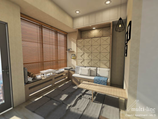 Interior apartemen studio simpel dan praktis for Interior apartemen studio