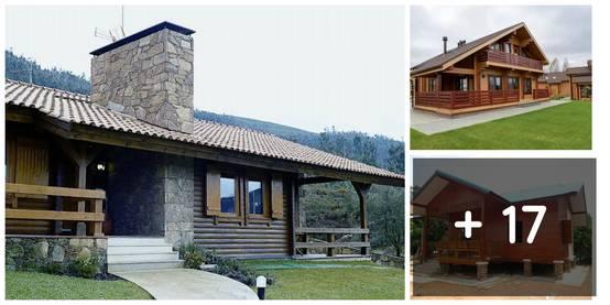 20 casas com estilo r stico perfeitas para o campo - Construir casa en terreno rustico ...
