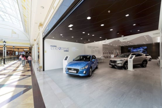 Spasvital trusts in KRION for the new Click2Drive concept from HYUNDAI