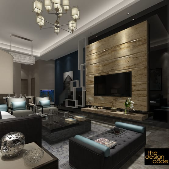 Homify 360º Articles Tips Information Homify: A Modern And Luxurious Residence In Ghaziabad