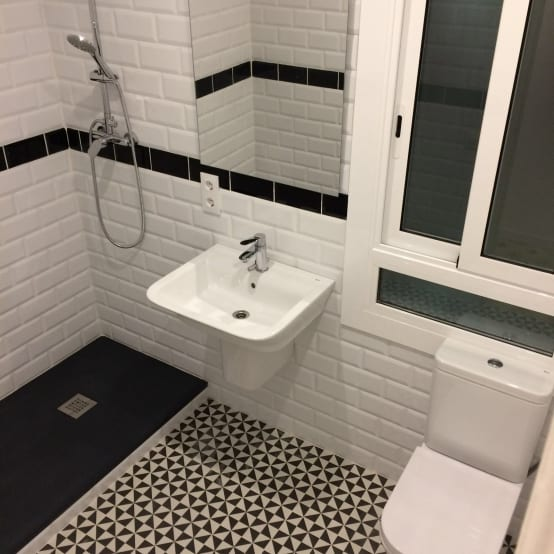 El proyecto de reforma de una cocina y un baño en Barcelona
