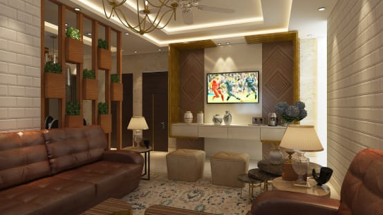 a modern and classy residence in noida. Black Bedroom Furniture Sets. Home Design Ideas