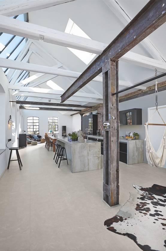 Cocinas estilo industrial 15 dise os espectaculares for Libreria estilo industrial