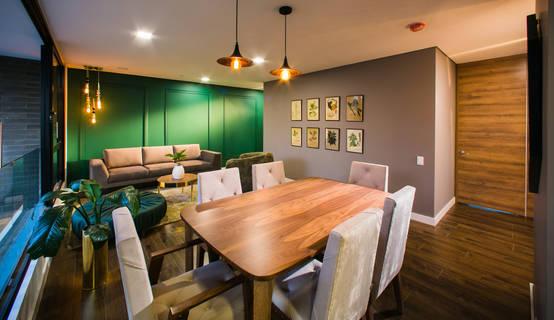 10 ideas para combinar el color del piso con el de las paredes