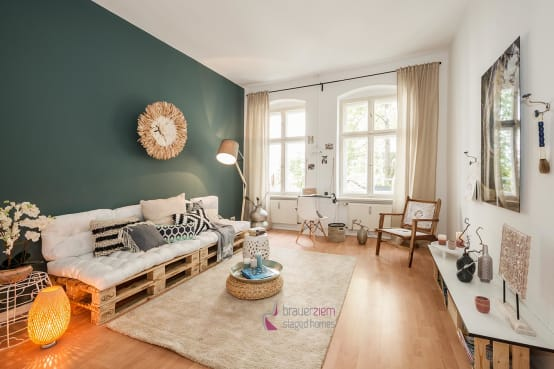22 sch ne einrichtungsideen f r kleine r ume. Black Bedroom Furniture Sets. Home Design Ideas