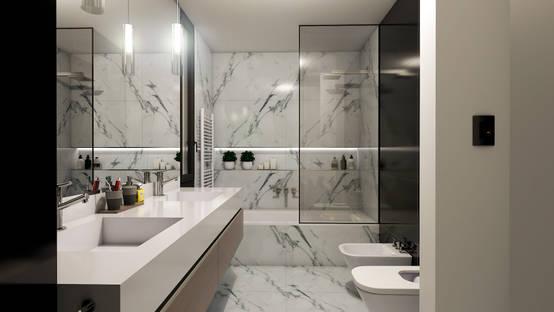 5 baños con duchas ¡fabulosas!
