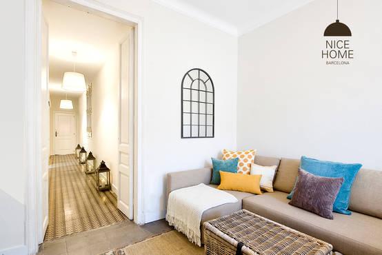 Apartamento de 160 m2 com decora o encantadora e barata - Nice home barcelona ...