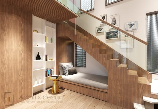 10 ways to use that wasted space under your stairs