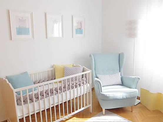 C mo decorar una habitaci n de beb con muebles ikea - Ikea muebles bebe ...