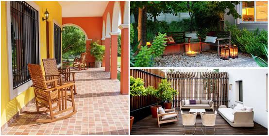 10 pisos baratos para que tu patio se vea como nunca for Como poner piedra en el patio