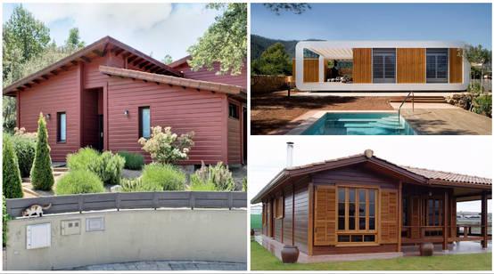 7 casas de madera de uno y dos pisos al alcance de todos
